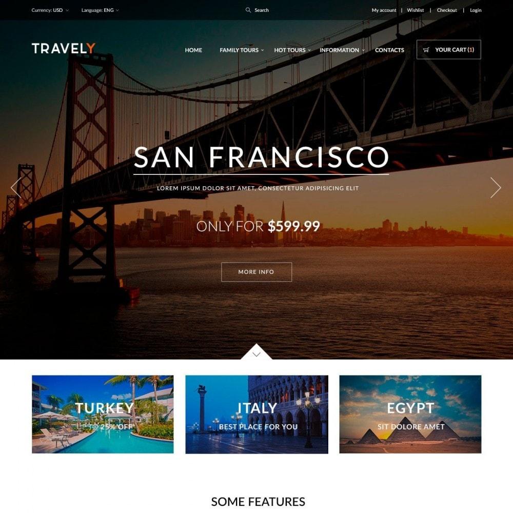 theme - Sport, Aktivitäten & Reise - Travely - Reise Shop - 2