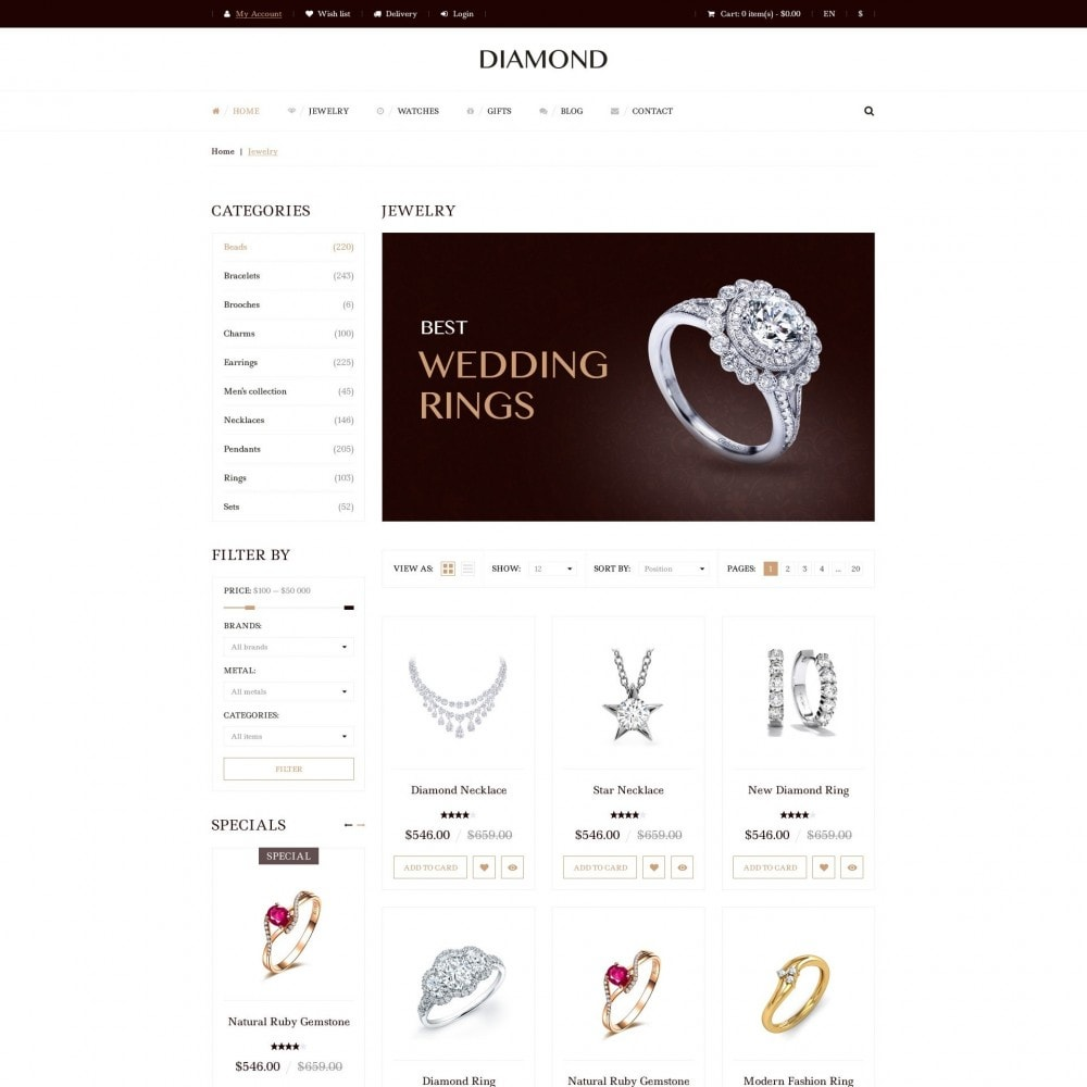 theme - Sieraden & Accessoires - Diamant - Juwelierszaak - 3