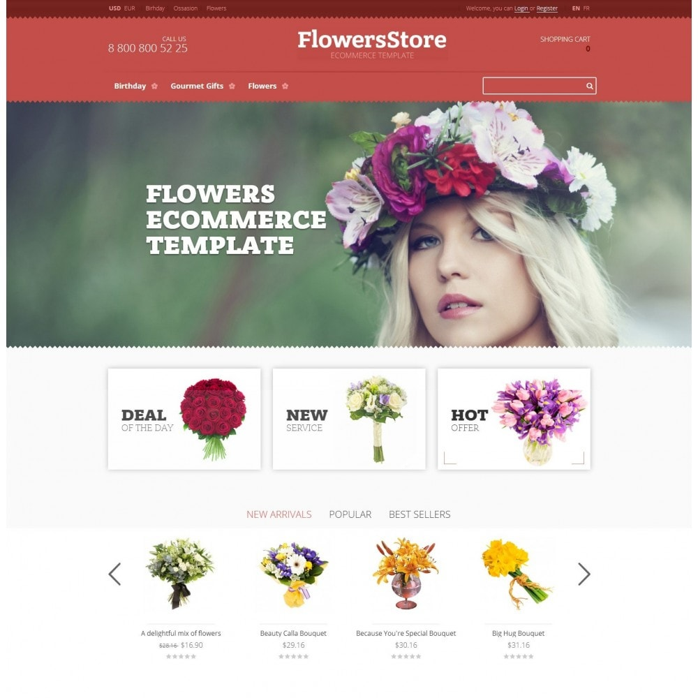 Floweris - Bloemen Shop