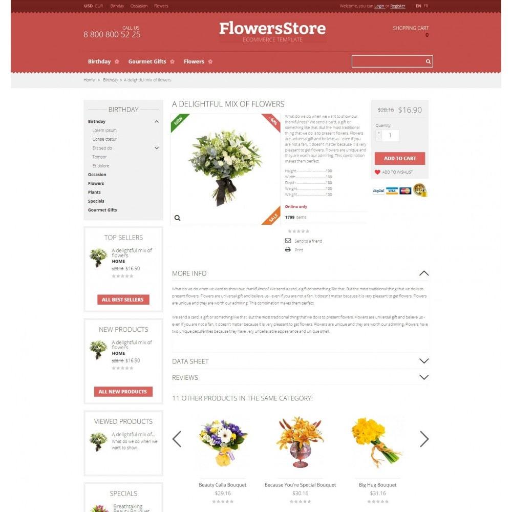 theme - Geschenke, Blumen & Feiern - Floweris - Blumen Shop - 4