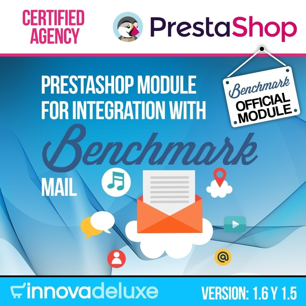 module - E-mails & Notícias - Benchmark Email Marketing Integration - 1
