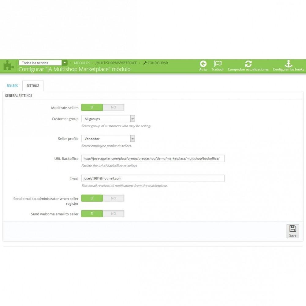 module - Marketplace Erstellen - Multishop Marketplace - 6