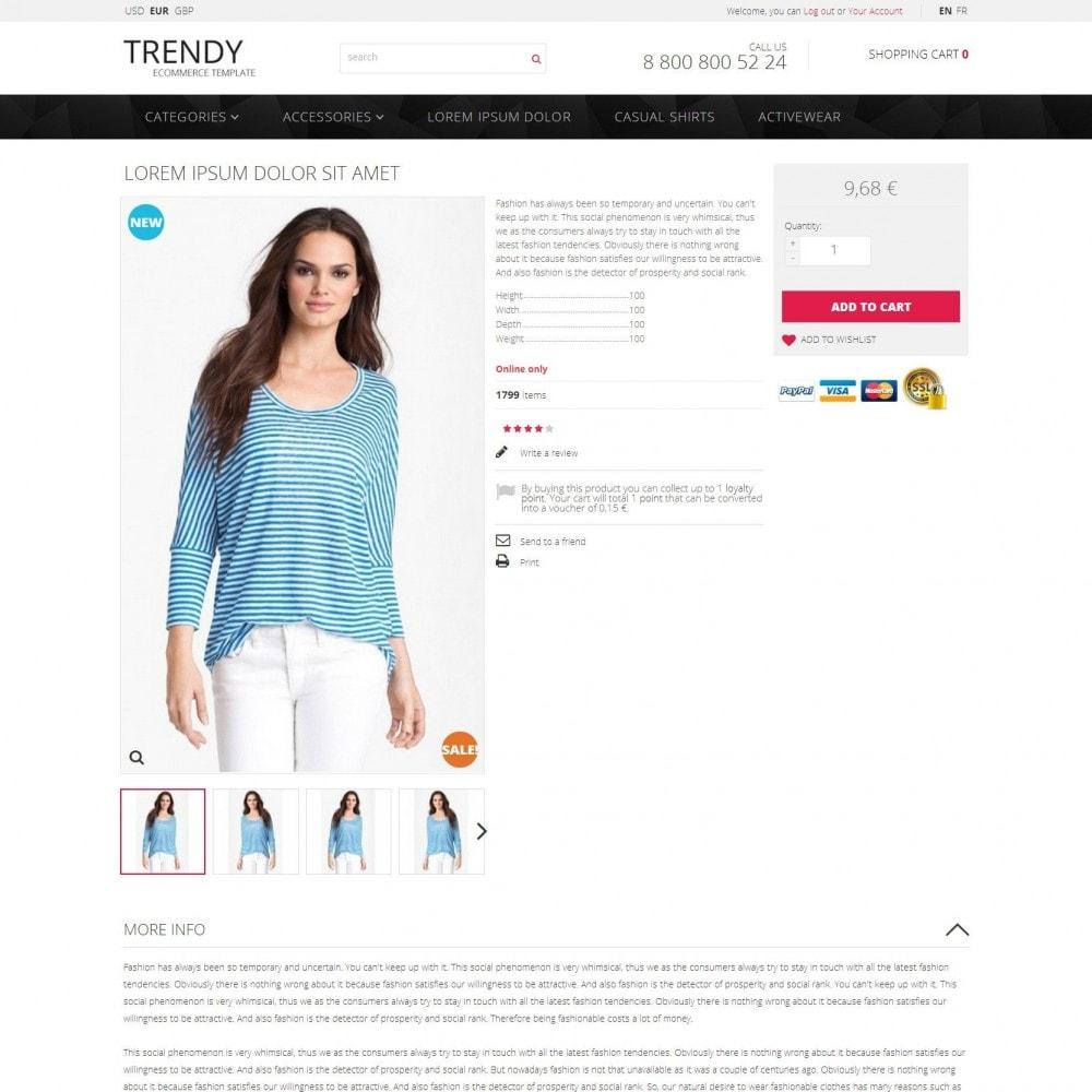 theme - Mode & Schuhe - Trendy - Modegeschäft Kleidung Sale - 4