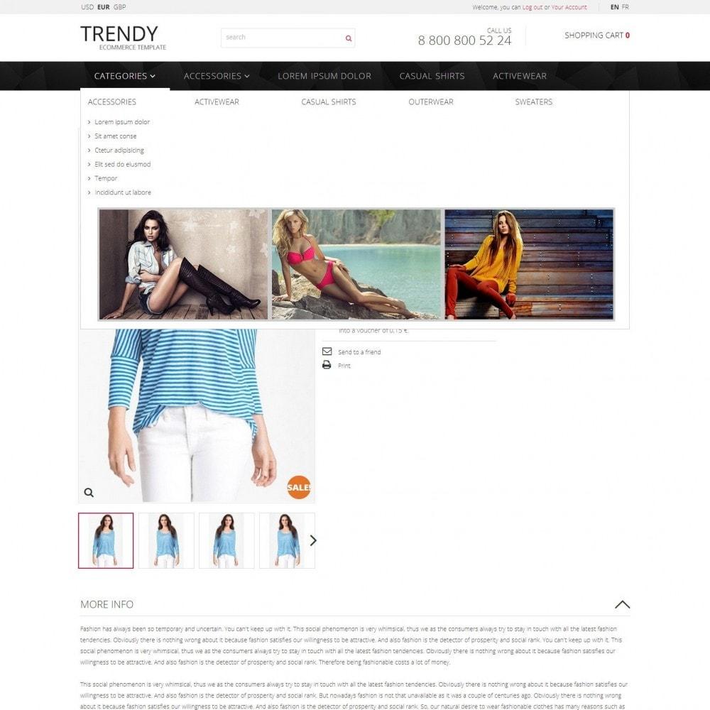 theme - Mode & Schoenen - Trendy - Modewinkel Kleren - 5