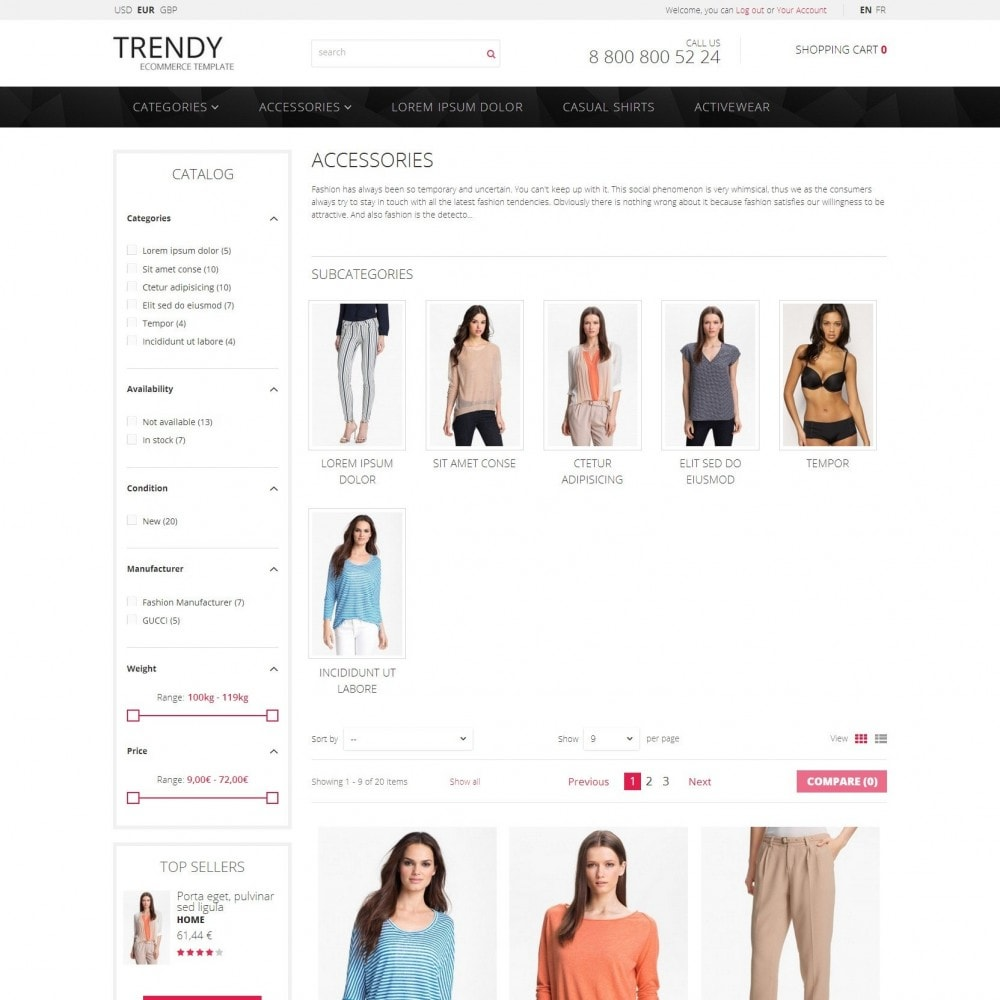 Trendy - Sklep z Mody Ubrania