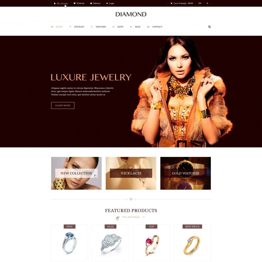 Diamante - De Joyería