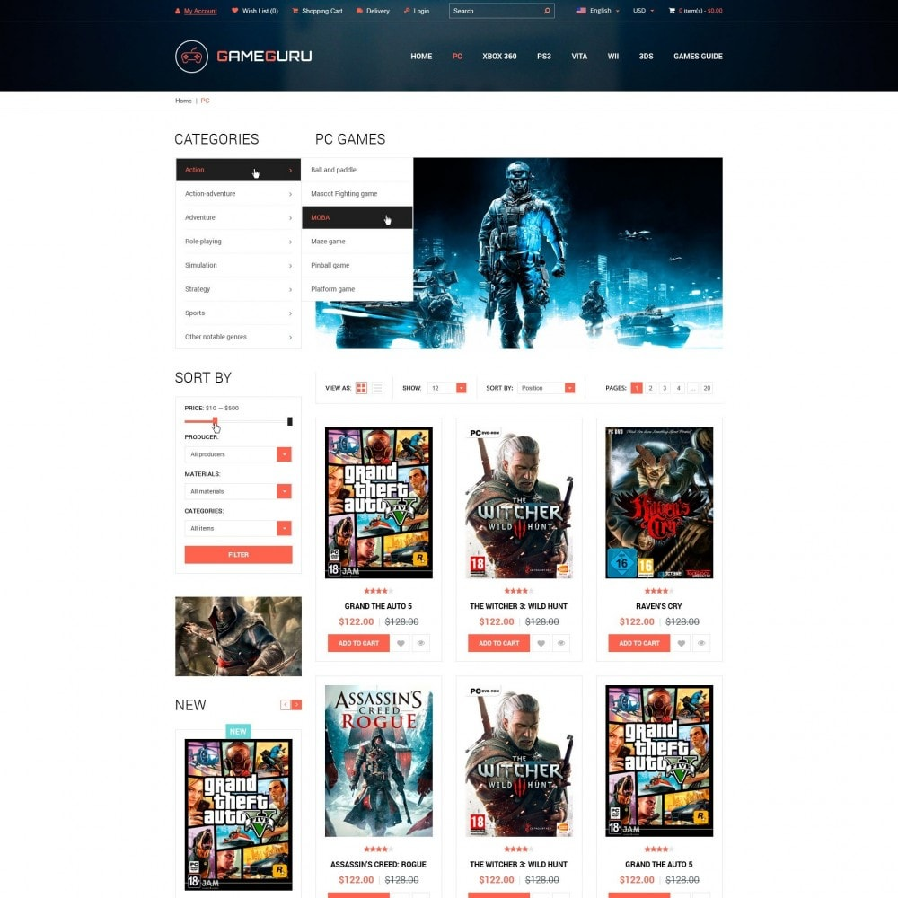 Gameguru - Spiele Spielen Store