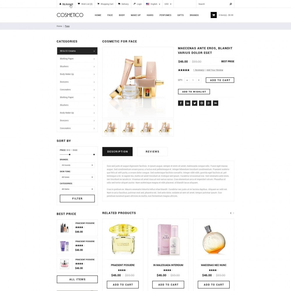 Cosmetico - Kosmetikgeschäft