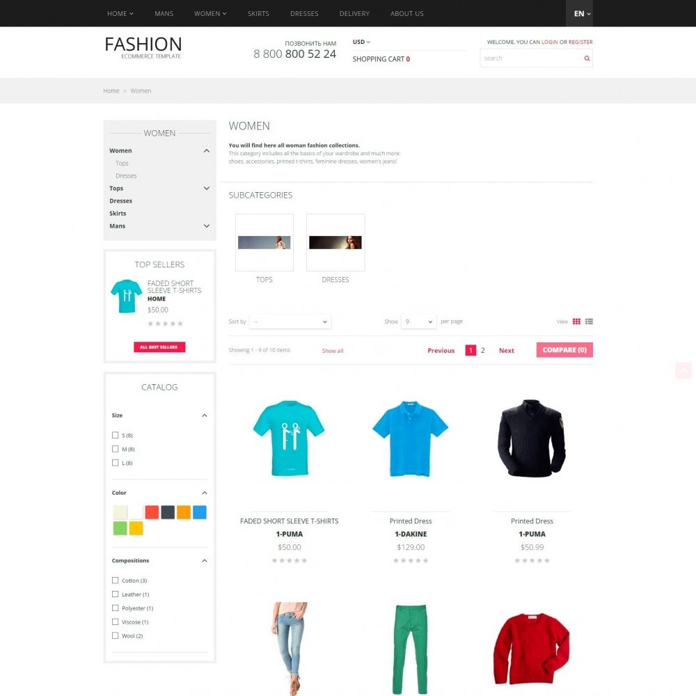 theme - Moda & Calçados - Fashion - Loja de roupa - 3