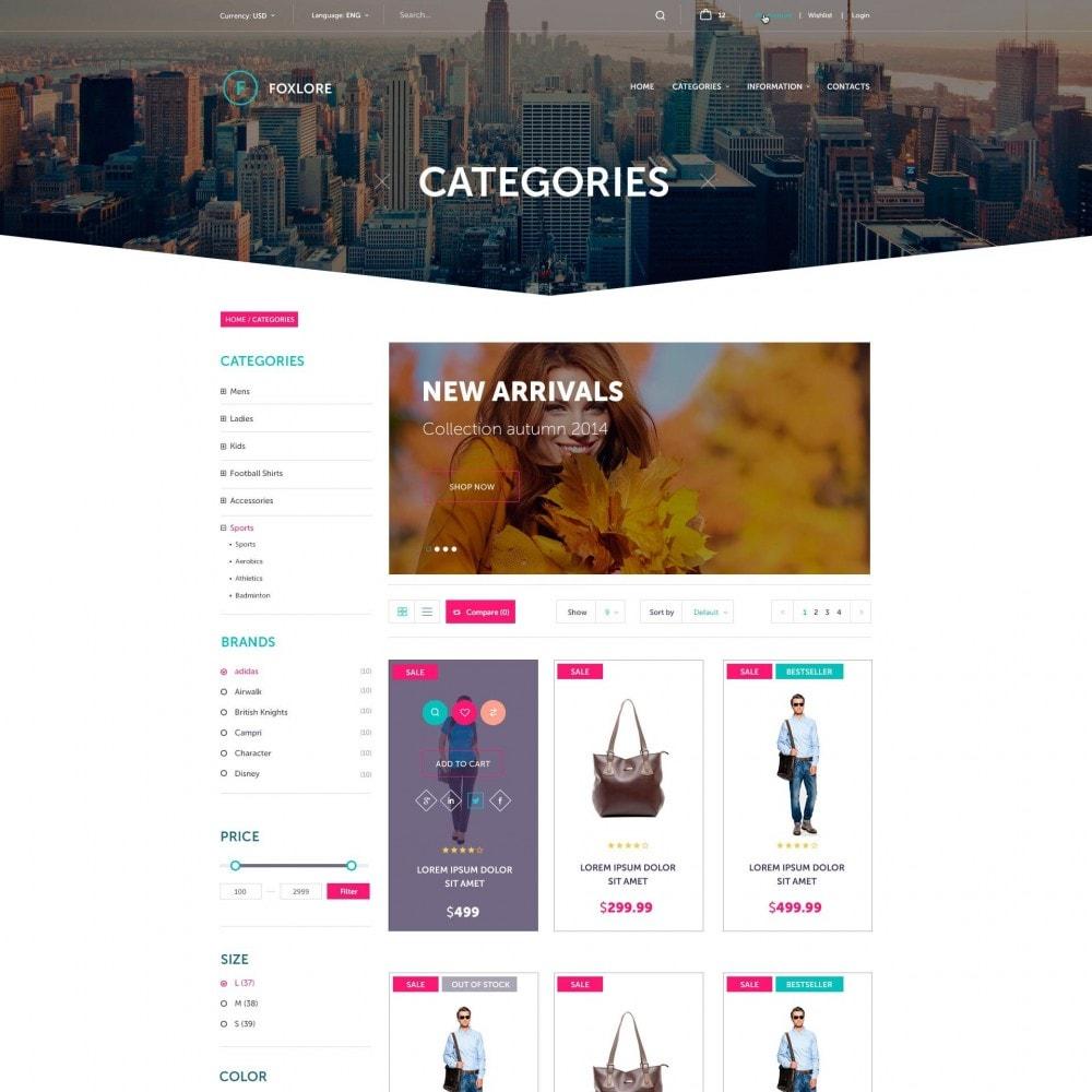 theme - Mode & Schuhe - Foxlore - für ein Bekleidungsgeschäft - 3