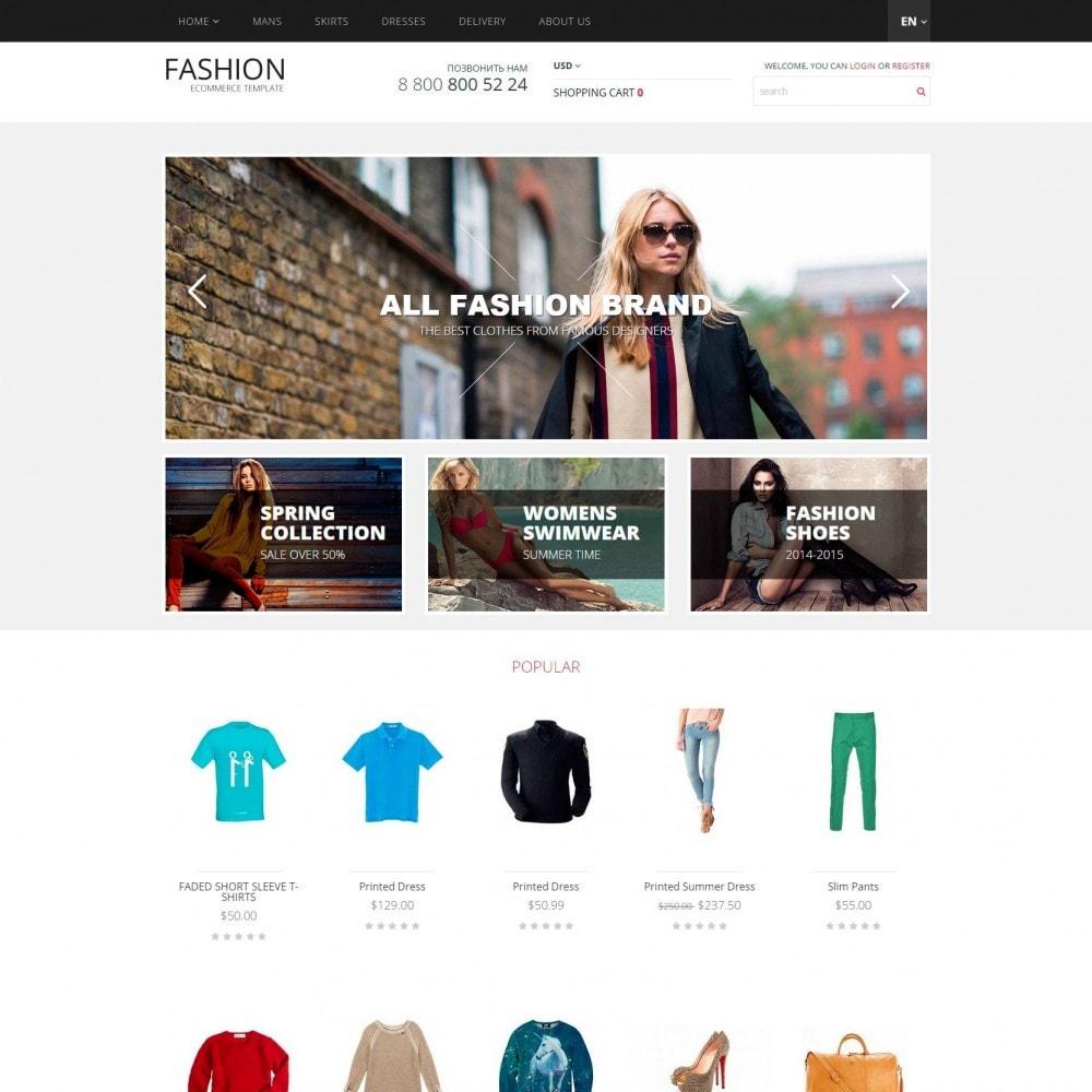 theme - Moda & Calzature - Fashion - Negozio di vestiti - 2