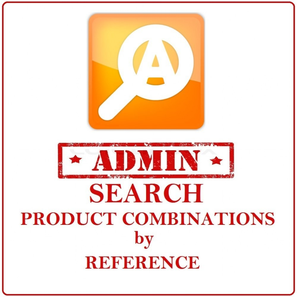 module - Outils d'administration - Admin Search Product Combinations by Reference - 1