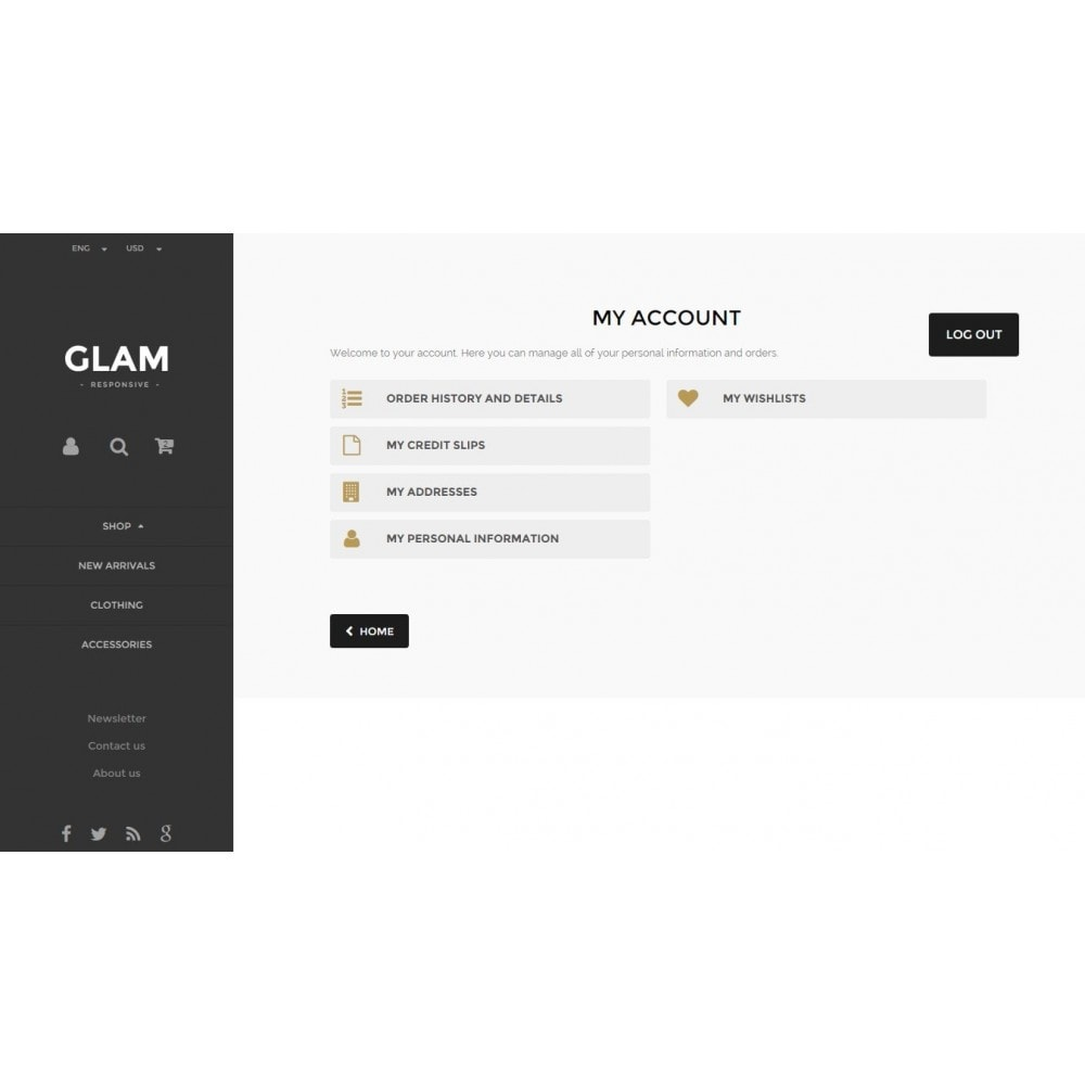 theme - Mode & Schuhe - Glam Prestashop 1.6 Responsive Template - 12