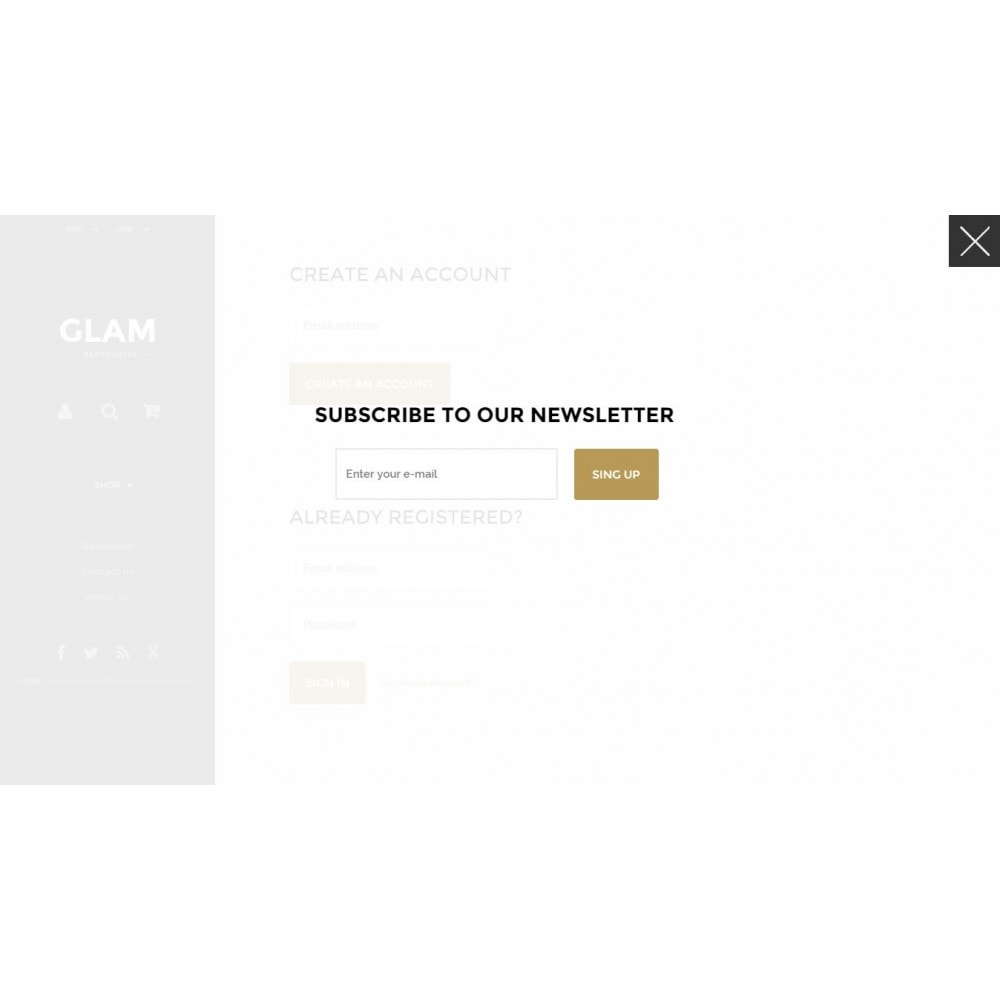 theme - Mode & Schuhe - Glam Prestashop 1.6 Responsive Template - 14