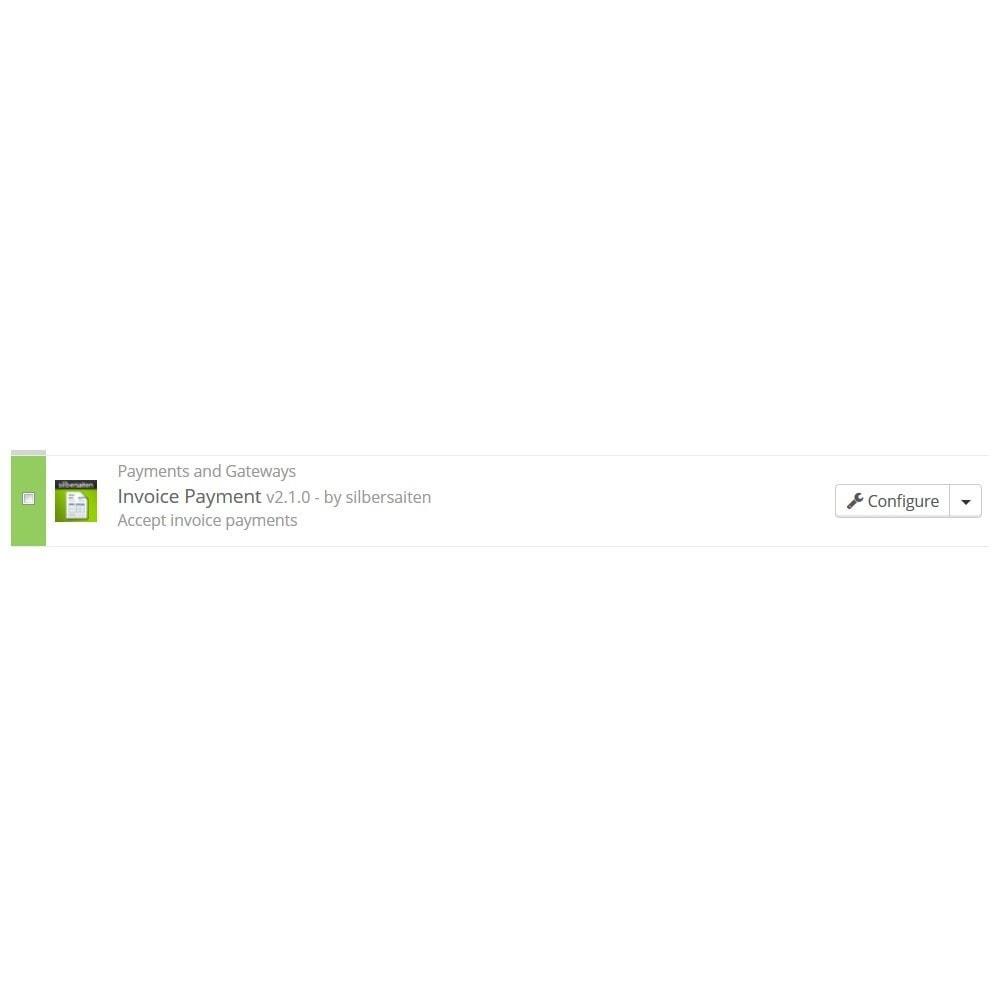 module - Zahlung auf Rechnung - Invoice Payment  - Zahlung auf Rechnung - 2