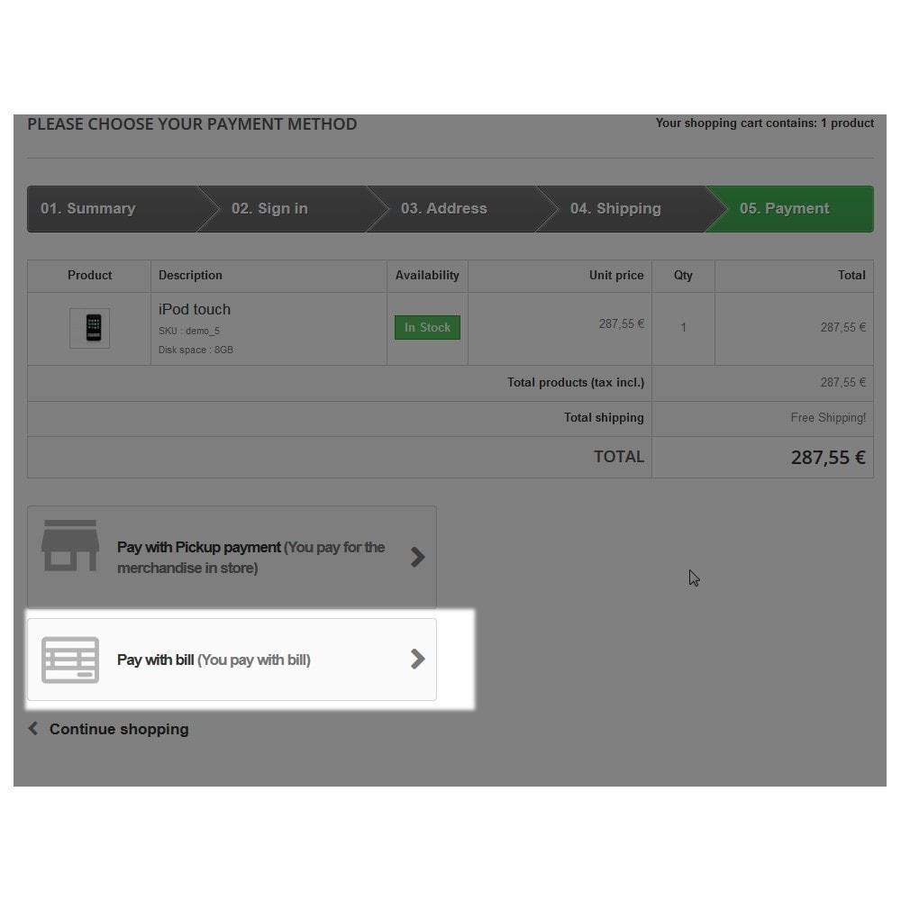 module - Zahlung auf Rechnung - Invoice Payment  - Zahlung auf Rechnung - 6