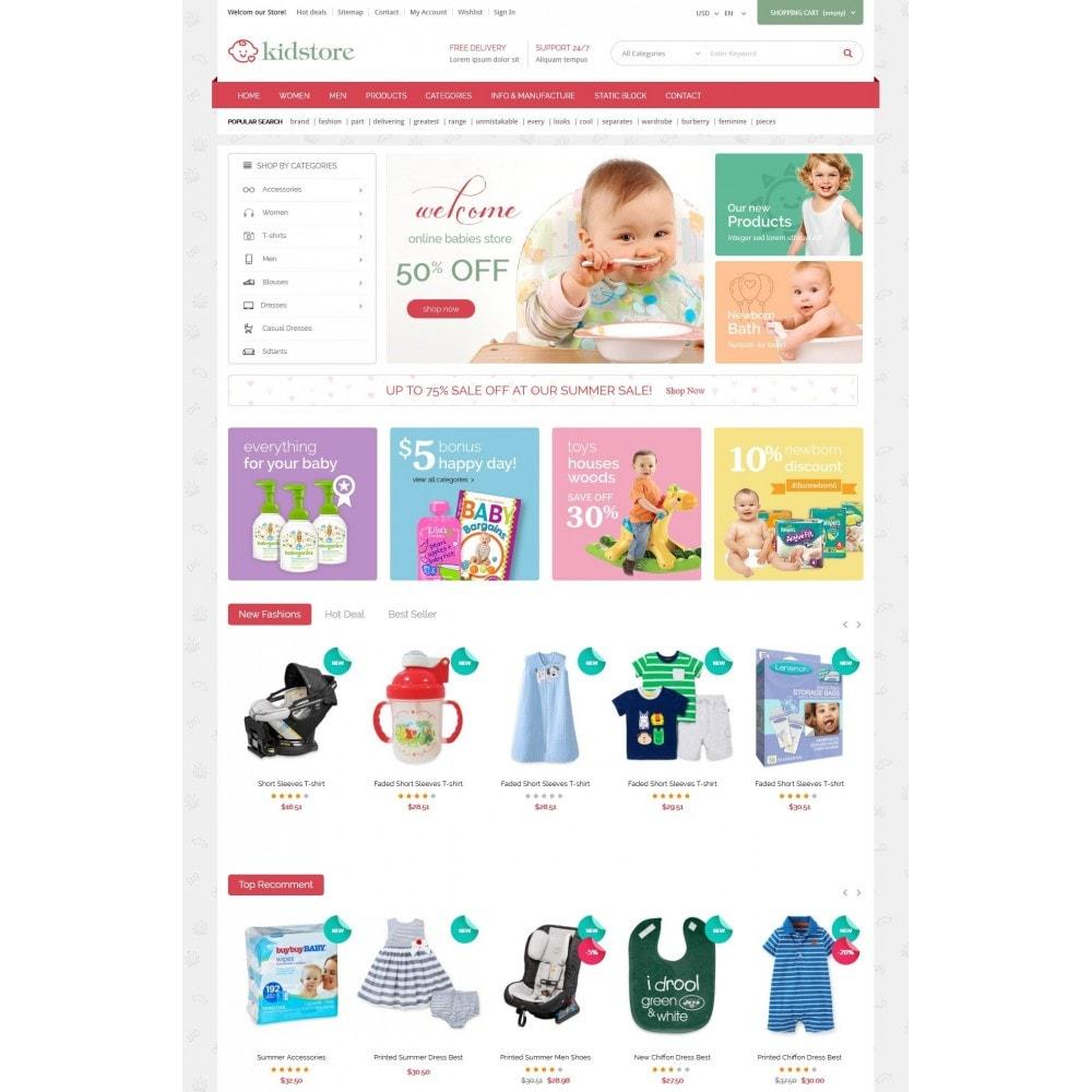 theme - Niños y Juguetes - Kidstore - Kids & Children Store - 2