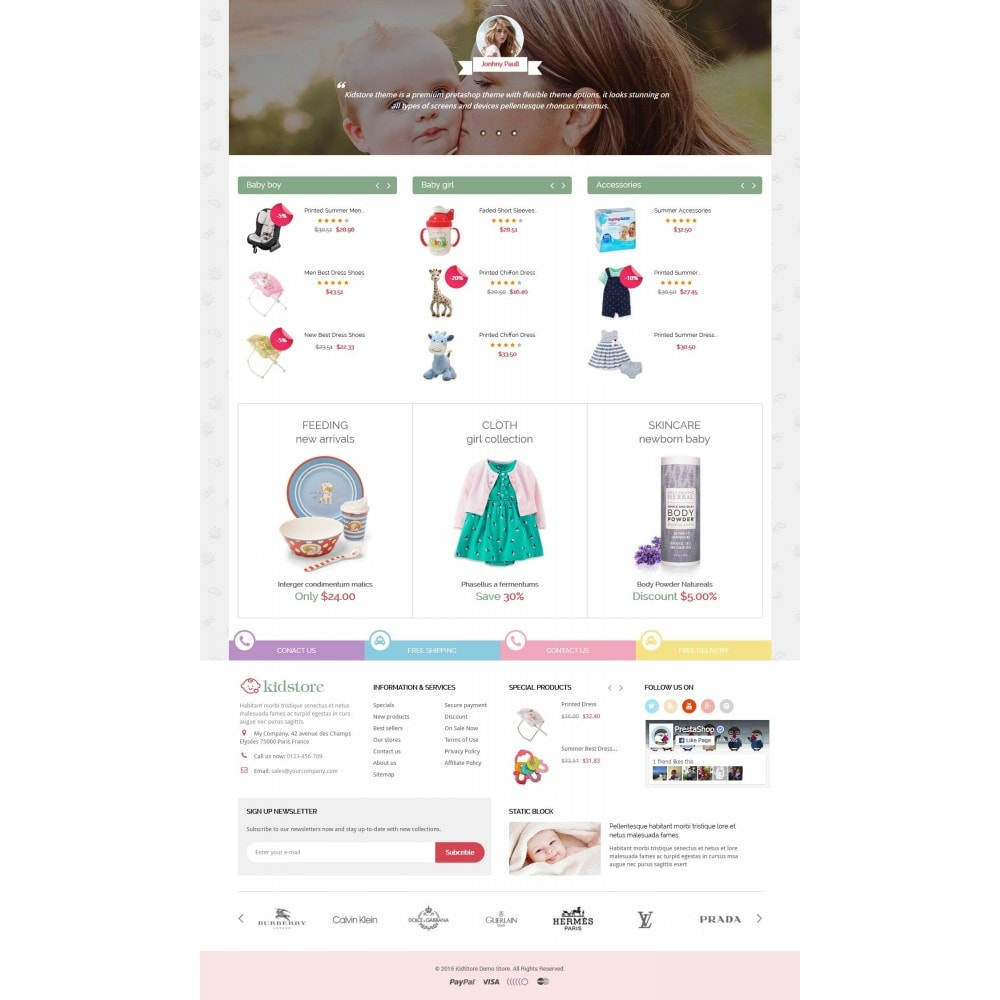 Kidstore - Kids & Children Store