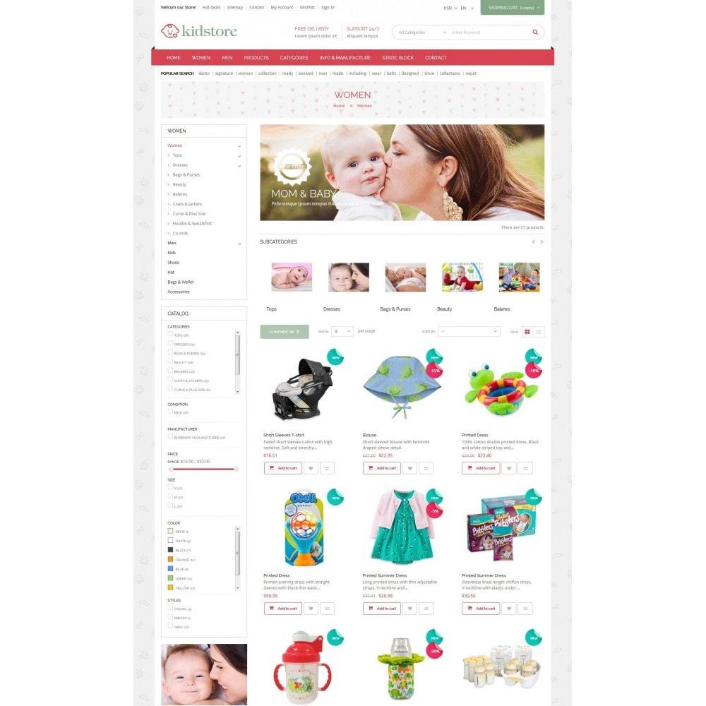 theme - Niños y Juguetes - Kidstore - Kids & Children Store - 4