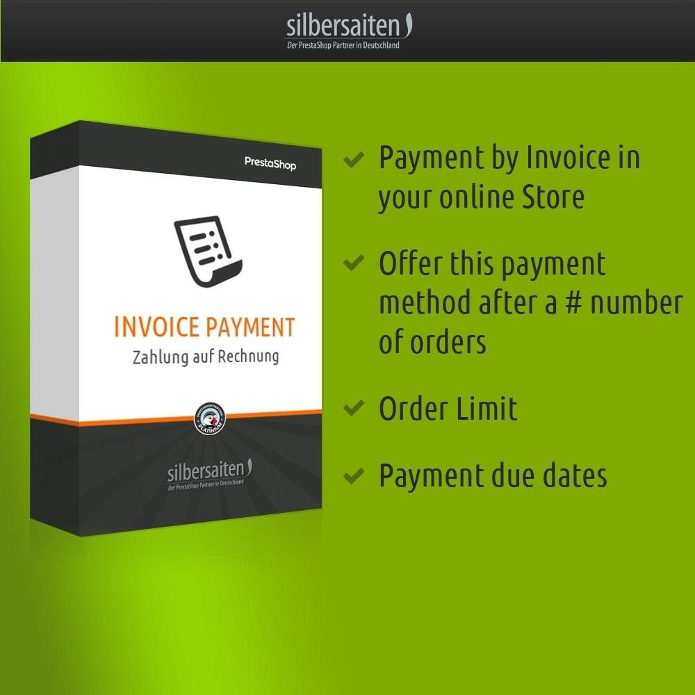 module - Zahlung auf Rechnung - Invoice Payment  - Zahlung auf Rechnung - 1