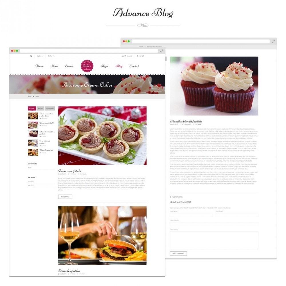 theme - Alimentation & Restauration - JMS Cake - 4