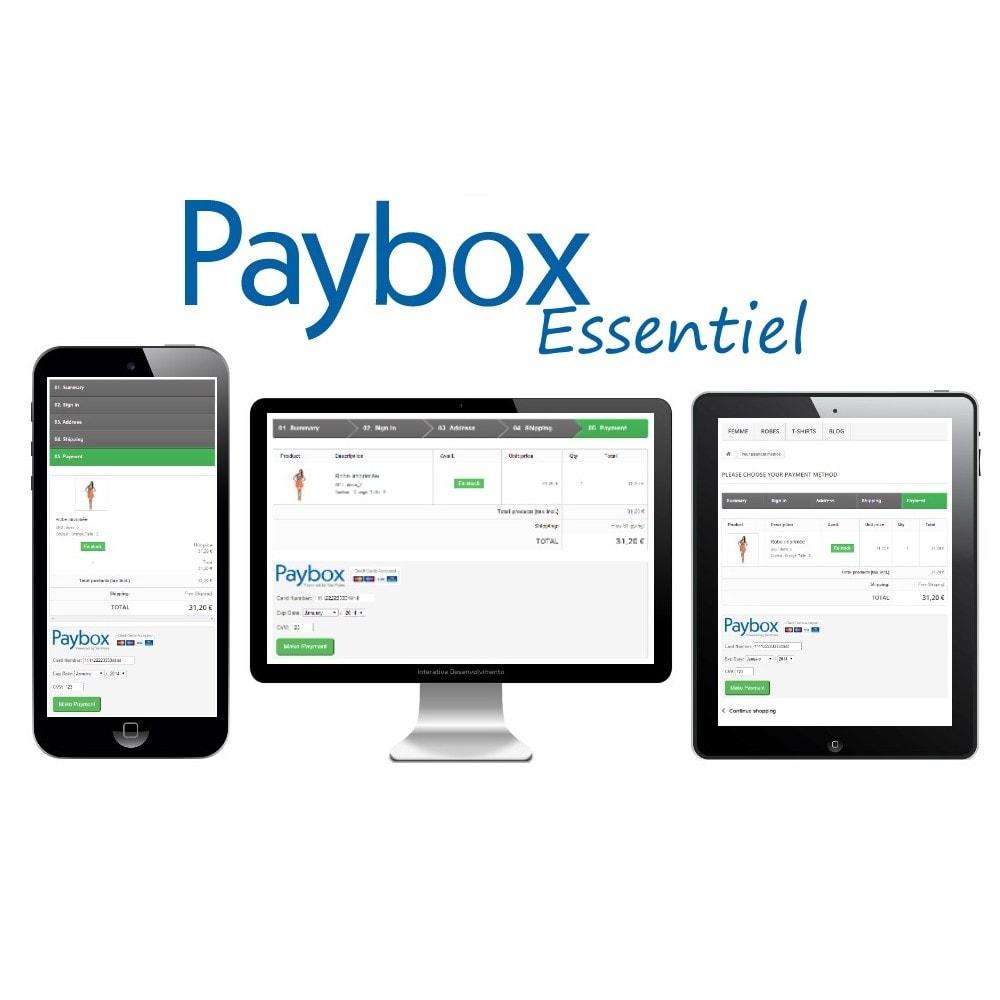 module - Creditcardbetaling of Walletbetaling - Paybox Essential (1.5, 1.6 & 1.7) - 2