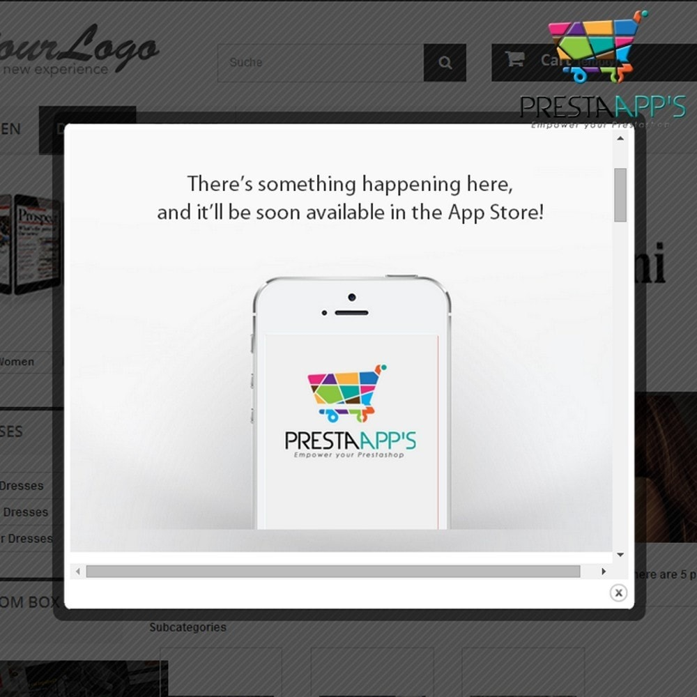module - Pop-in & Pop-up - Landing Page PopUp - 2