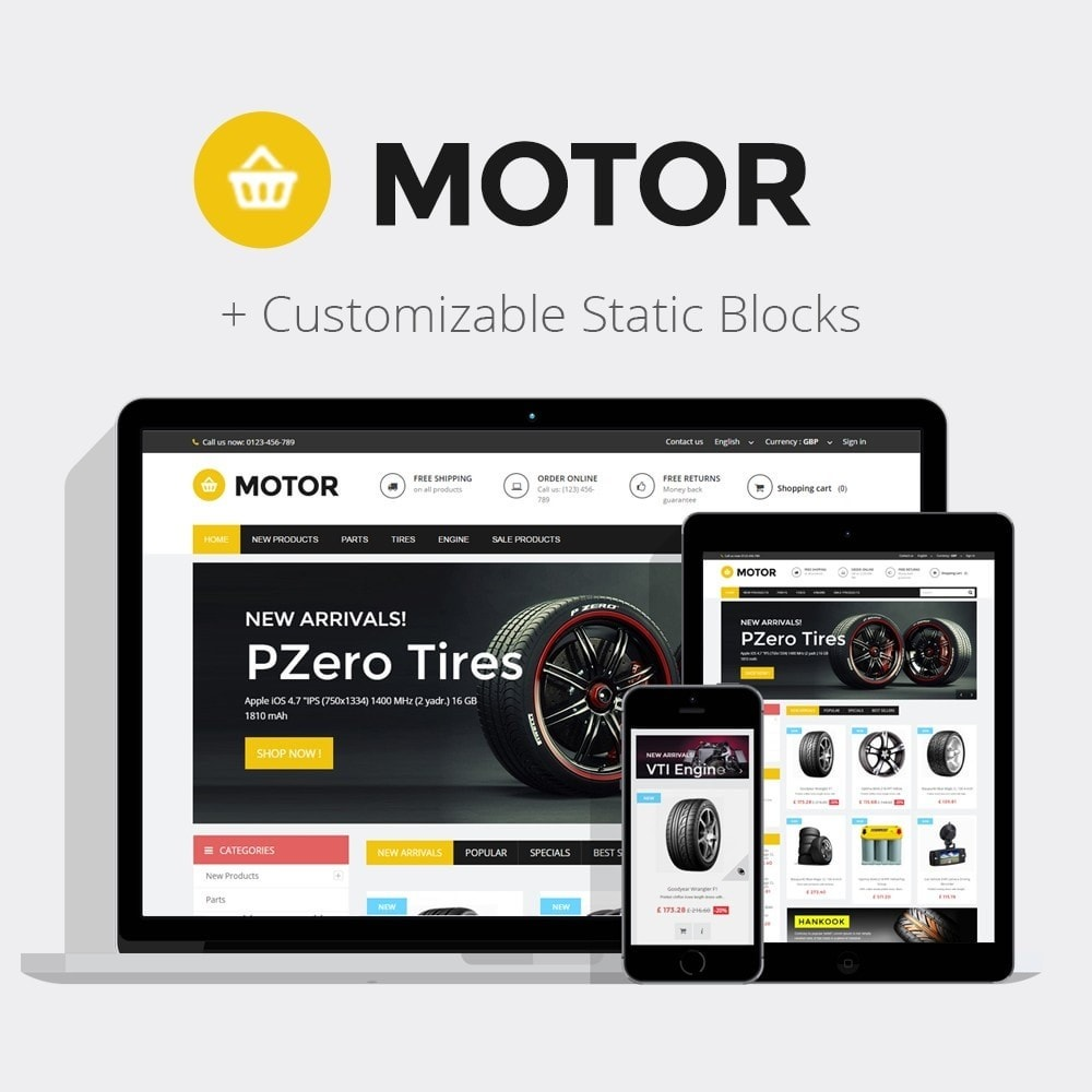 theme - Automotive & Cars - AUTO 1.6 Responsive - 1