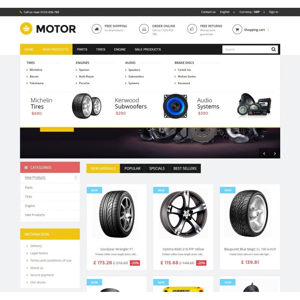 theme - Automotive & Cars - AUTO 1.6 Responsive - 4