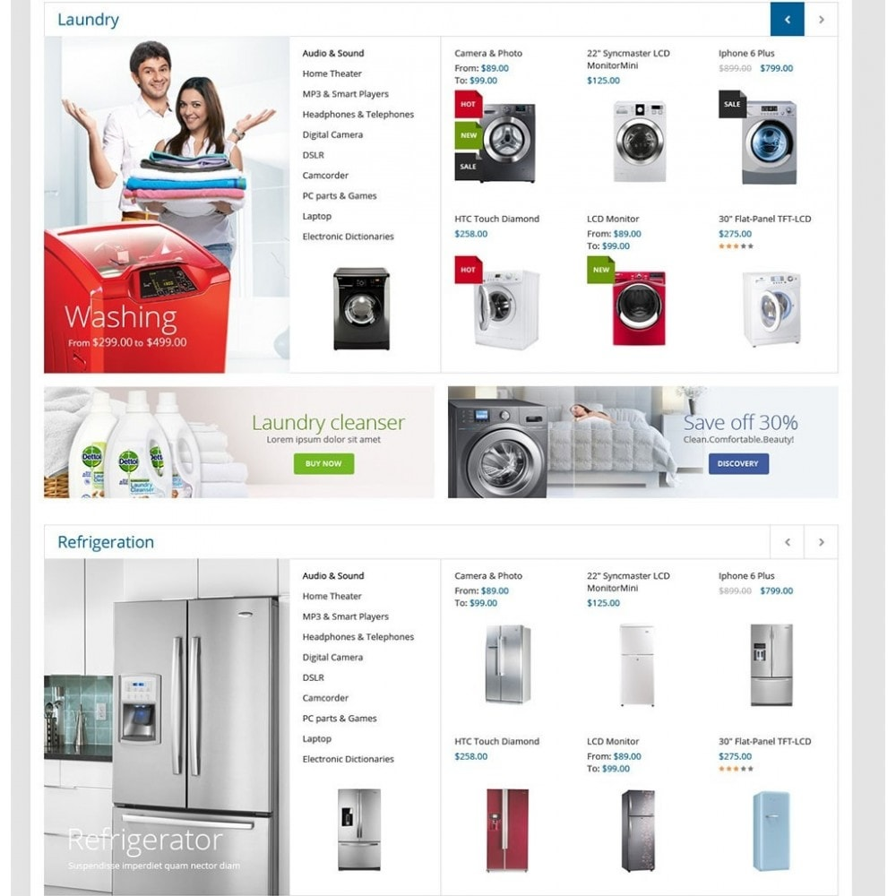 theme - Dom & Ogród - Home Appliances - Neutral Responsive PrestaShop Theme - 3