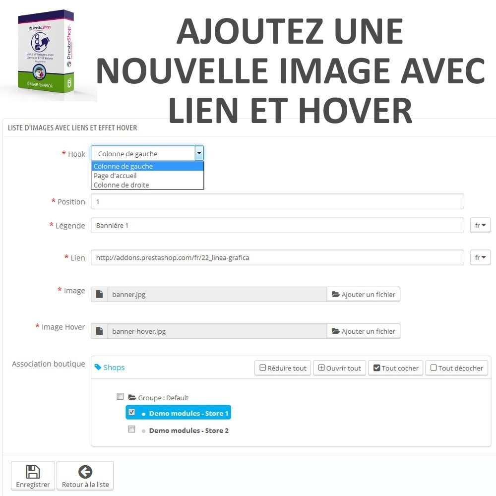 module - Blocs, Onglets & Bannières - Bloc d´Images avec Effet Rollover - Responsive - 5