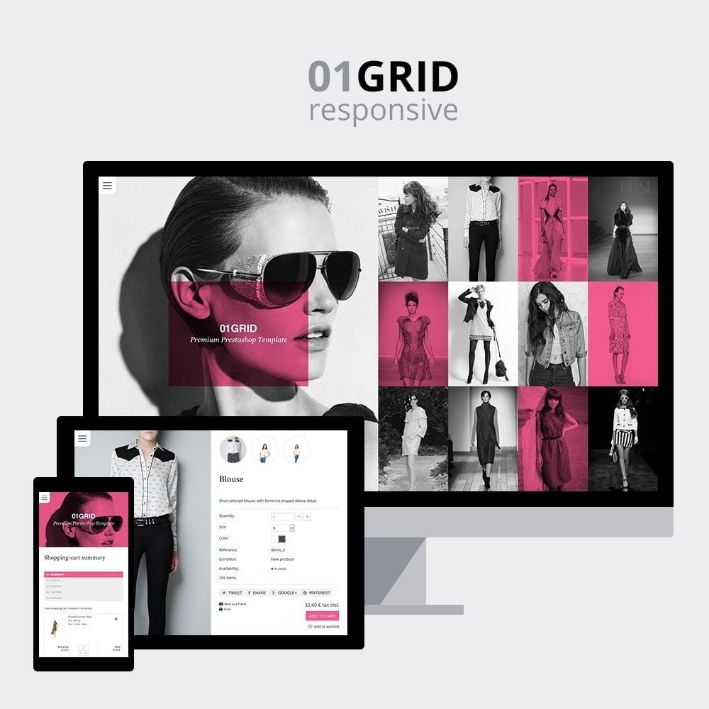 theme - Mode & Chaussures - 01 Grid - 1