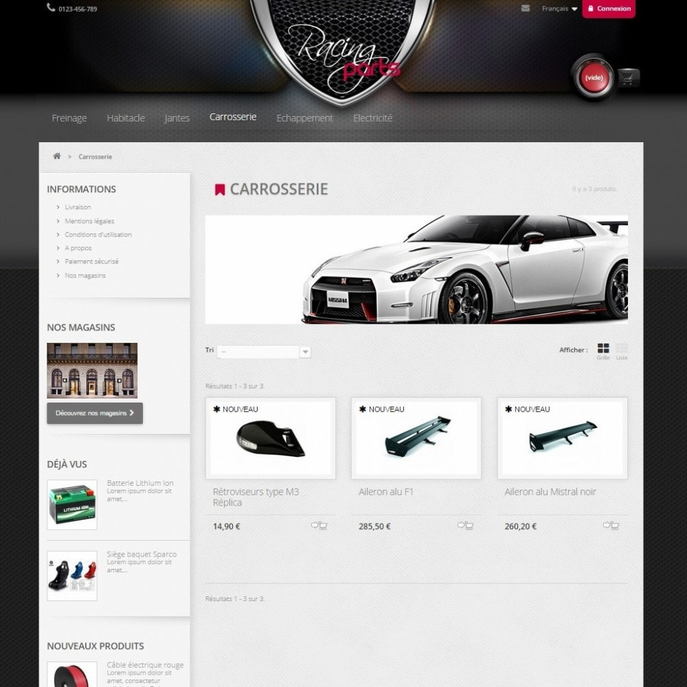 theme - Auto & Moto - Racing Parts - 4