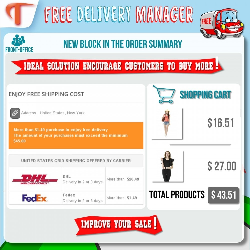 module - Shipping Costs - Free Delivery Manager - 5