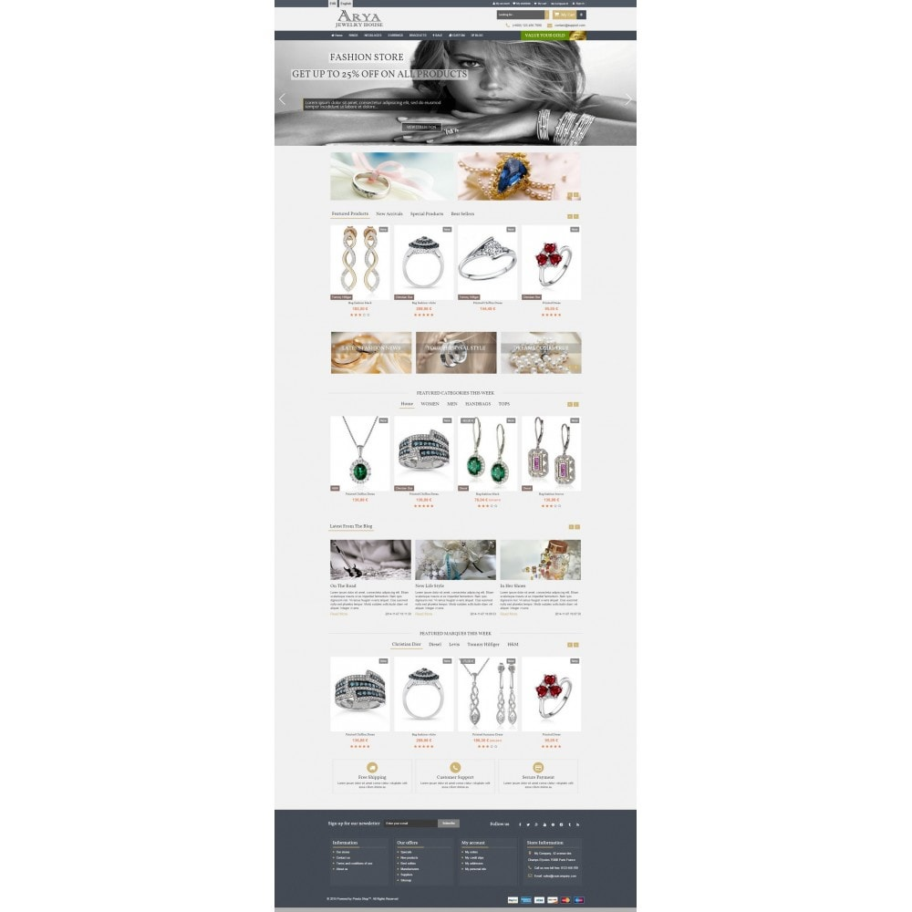 theme - Bijoux & Accessoires - Arya Responsive 1.6 - 4