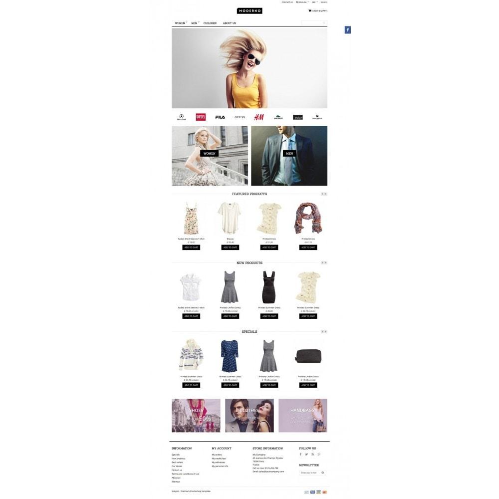 theme - Moda & Calçados - Moderno - 2