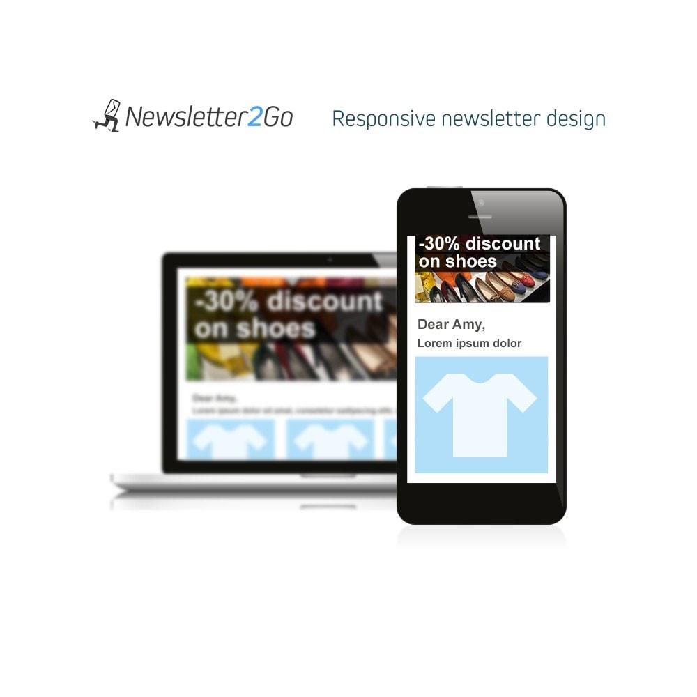 module - Boletim informativo & SMS - Newsletter2Go - 4