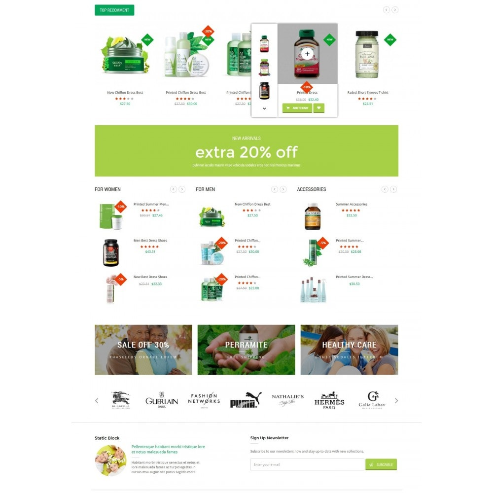 theme - Salud y Belleza - HealthCare - Bio & Medical Store - 3