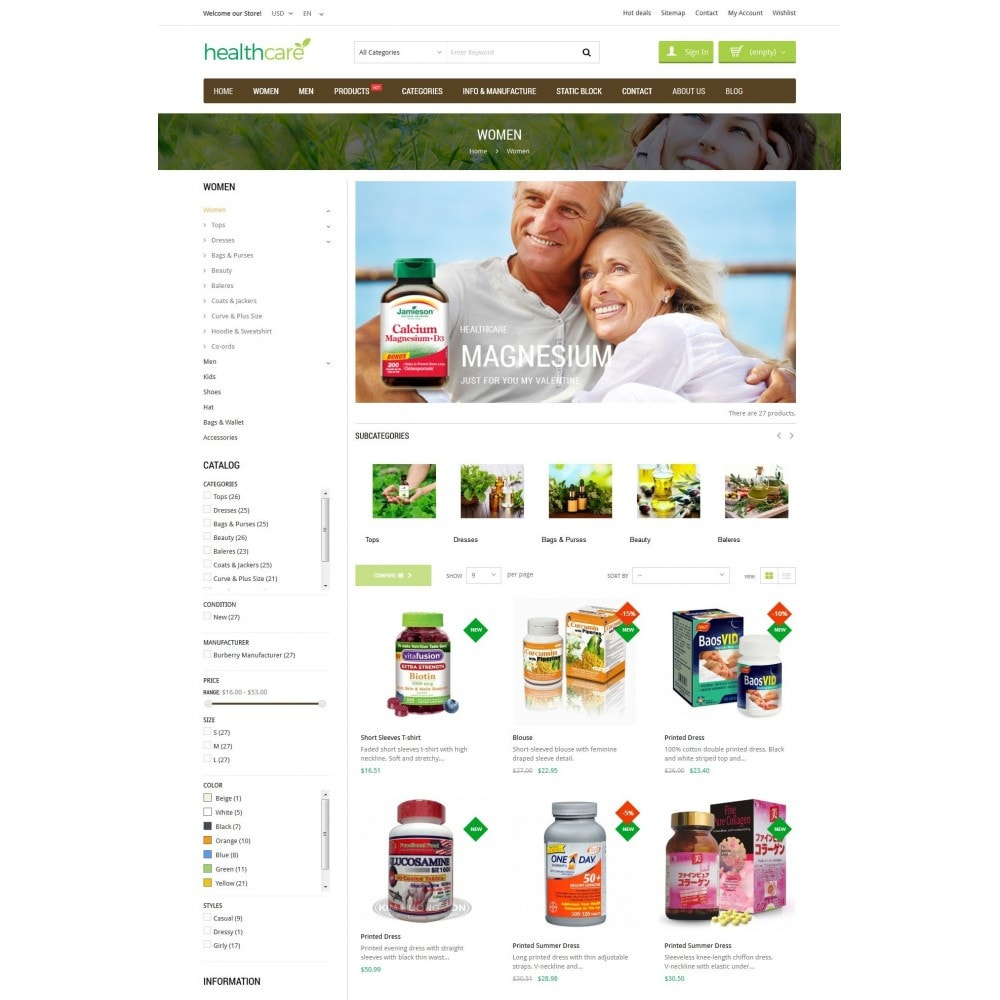 theme - Salud y Belleza - HealthCare - Bio & Medical Store - 4