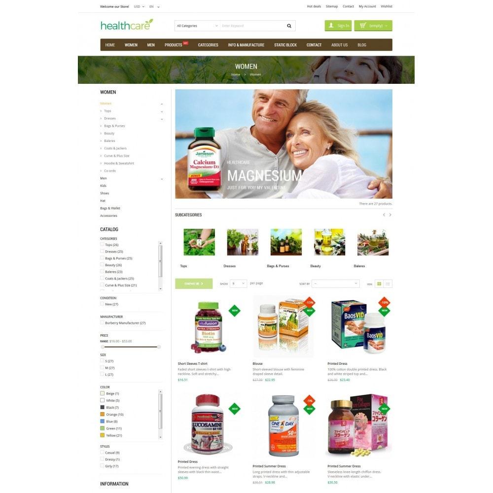 theme - Santé & Beauté - HealthCare - Bio & Medical Store - 4