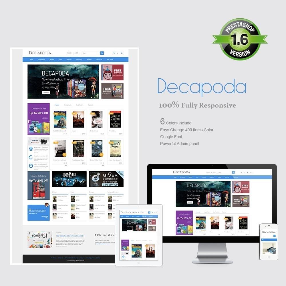 Decapoda - Responsive Prestashop Theme