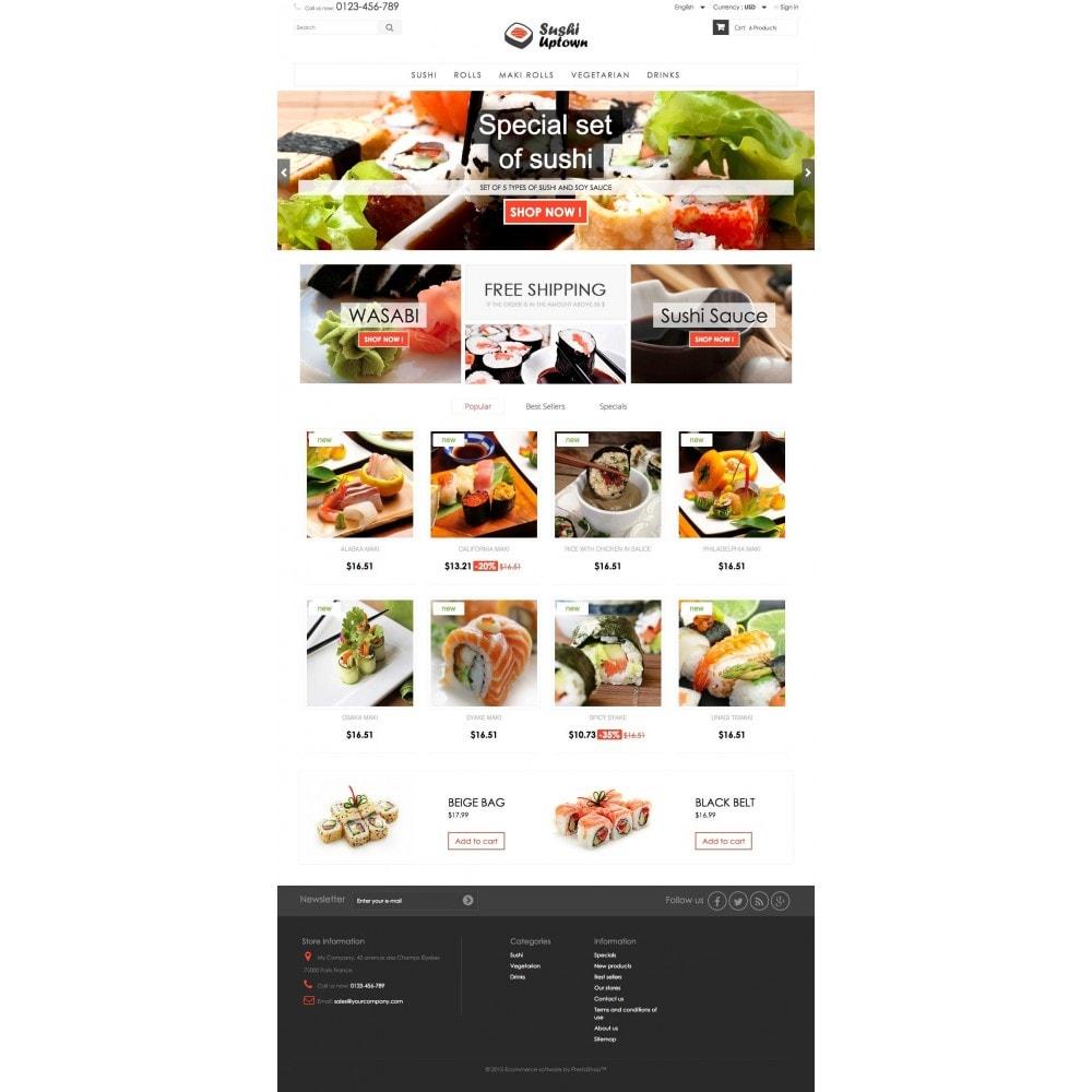 theme - Lebensmittel & Restaurants - Sushi Uptown 1.6 Responsive - 2