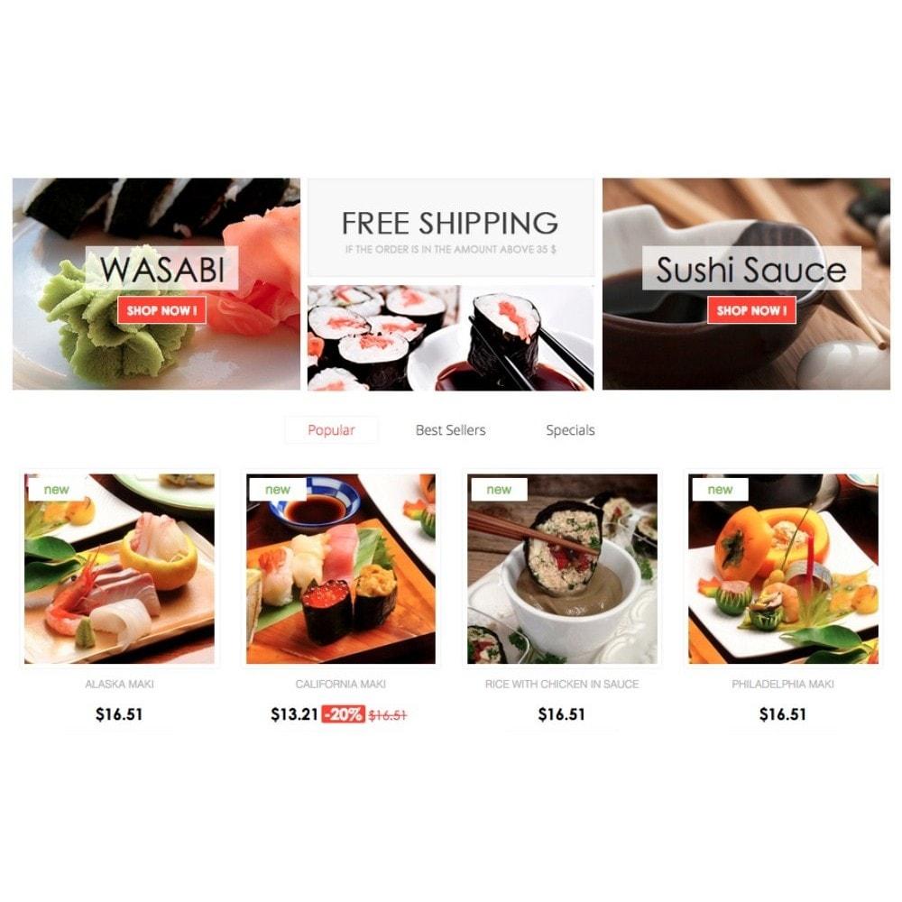 theme - Gastronomía y Restauración - Sushi Uptown 1.6 Responsive - 4