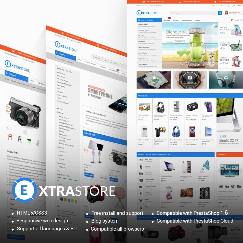 theme - Electronics & Computers - ExtraStore - Houseware Electronic - 1