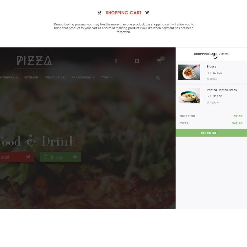 theme - Alimentation & Restauration - Leo Pizza - 5