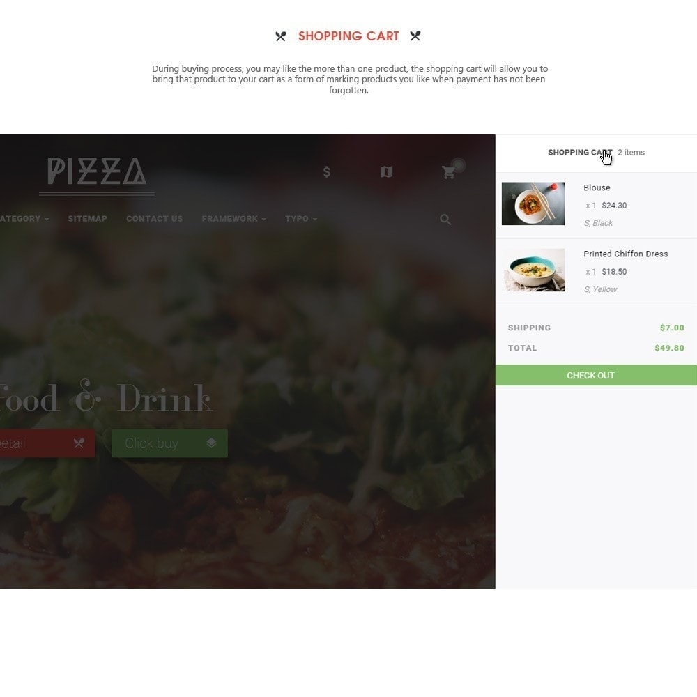 theme - Food & Restaurant - Leo Pizza - 5