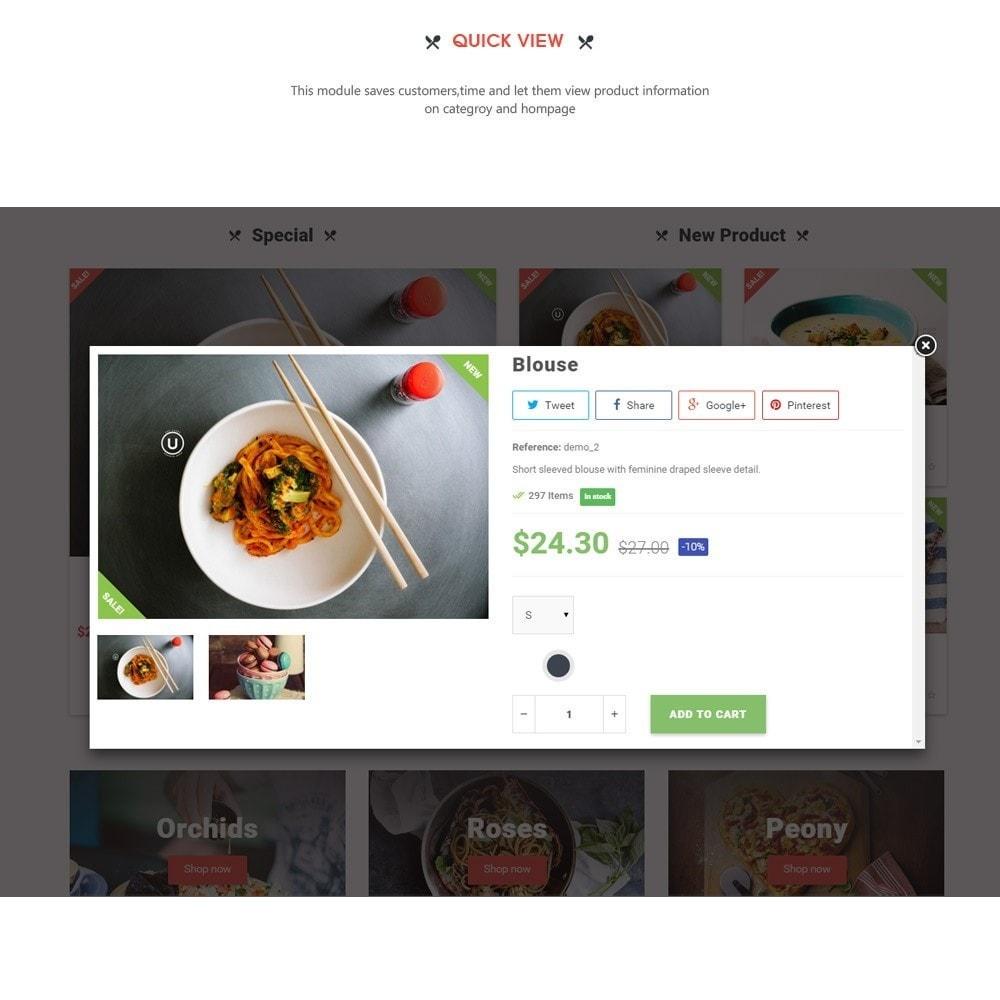 theme - Alimentation & Restauration - Leo Pizza - 7