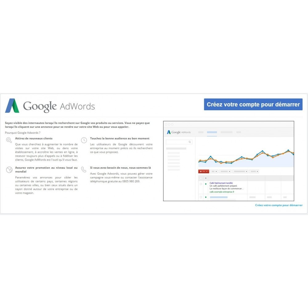 module - Référencement payant (SEA SEM) & Affiliation - Google Adwords Conversions - 1