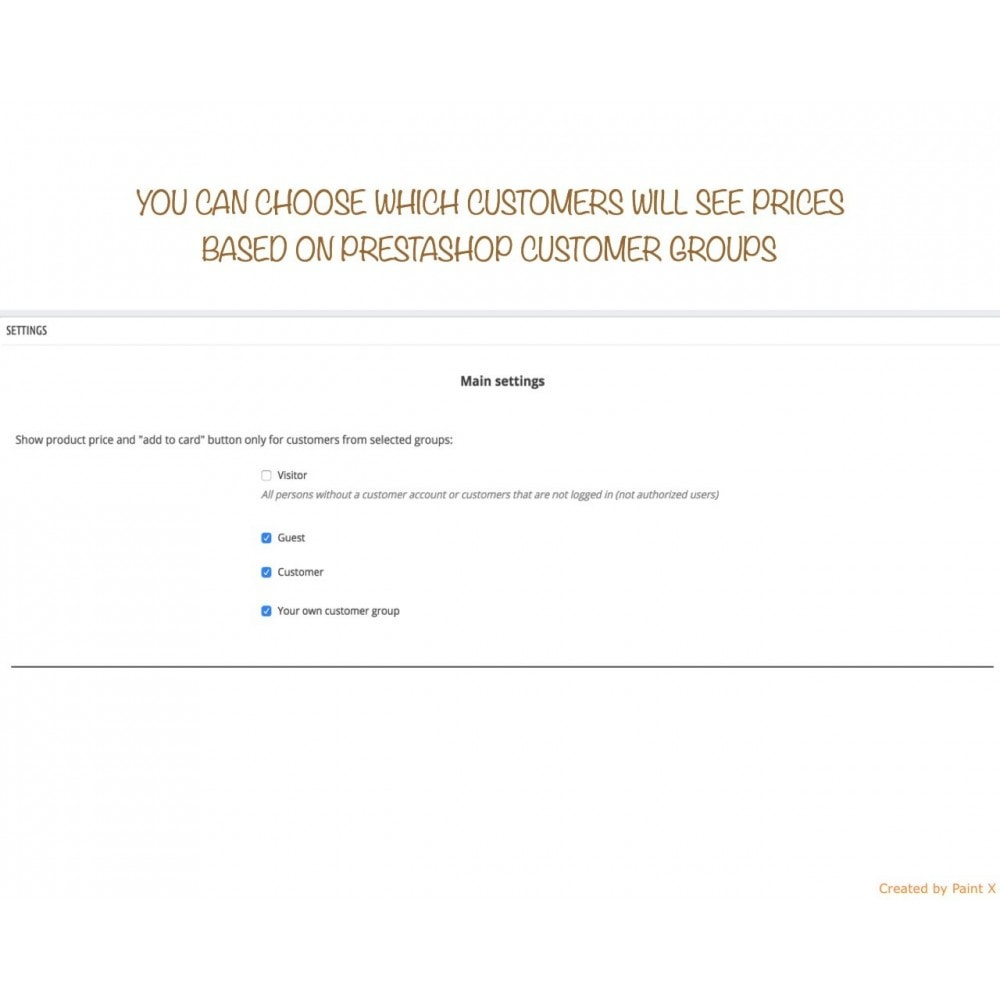 module - Customer Administration - B2B Hide price for unauthorized customers - 2