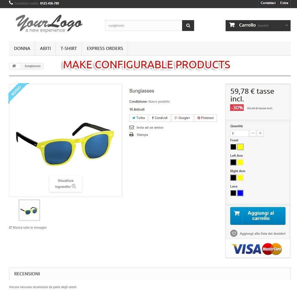 module - Combinations & Product Customization - LS Products Configurator - 1